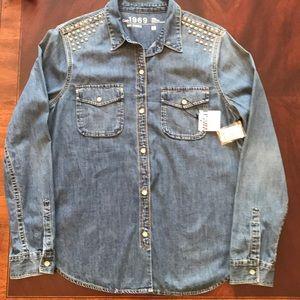GAP 1969 denim shirt